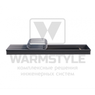 Внутрипольный конвектор Heatmann серии Line 90х250х1200 мм