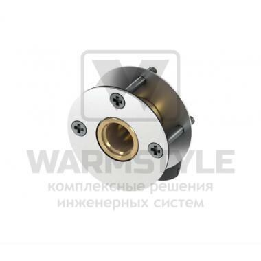 Сквозное угловое присоединение фланцевое со звукоизолирующими прокладками для стен толщиной 18-25 мм TECE