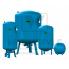 Мембранный расширительный бак для систем ГВС Reflex DE 33 на ножках синий
