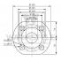Циркуляционный насос с мокрым ротором Wilo TOP-S 50/4 EM PN6/10