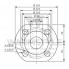 Циркуляционный насос с мокрым ротором Wilo TOP-S 50/7 DM PN6/10