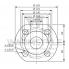 Циркуляционный насос с мокрым ротором Wilo TOP-S 65/13 DM PN6/10