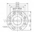 Циркуляционный насос с мокрым ротором Wilo TOP-S 100/10 DM PN10