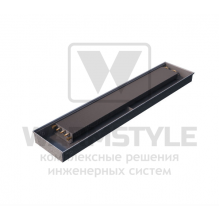 Внутрипольный конвектор Heatmann серии Line 110х250х1700 мм