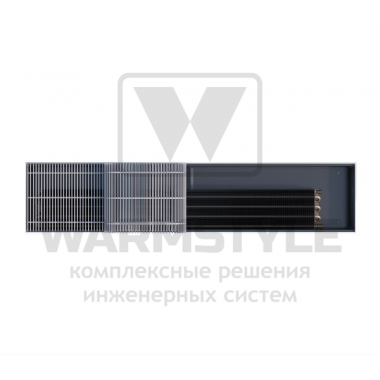Внутрипольный конвектор Heatmann серии Line 125х250х1300 мм