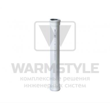 Труба ПВХ с двумя раструбами REDI Phonoline d 40 мм х 0,50 м