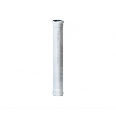 Труба ПВХ с двумя раструбами REDI Phonoline d 90 мм х 1,00 м
