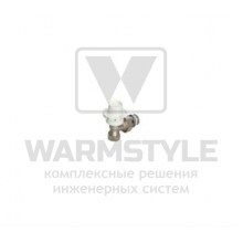 Угловой термостатический радиаторный клапан Cosmo, ВР-НР