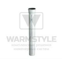 Труба ПВХ с одним раструбом REDI Phonoline d 100 мм х 0,5 м
