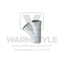 Тройник REDI Phonoline 45° d50