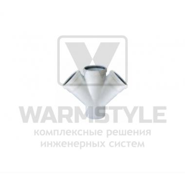 Крестовина REDI Phonoline 45° d100/40/40