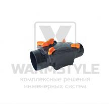 Механический канализационный затвор однокамерный с запирающейся заслонкой для труб из ПВХ REDI OTTIMA d 100