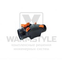 Механический канализационный затвор двухкамерный с запирающимися заслонками для гладких пластиковых труб REDI OTTIMA d 100