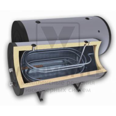 Горизонтальный бойлер косвенного нагрева с двумя теплообменниками Sunsystem H SON 300 l (300 литров). С функцией установки интеллектуального блока управления.
