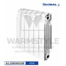 Алюминиевый радиатор Global VOX 350 (440х95x240)