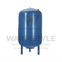 Мембранный расширительный бак для систем ГВС Reflex DE 400 синий