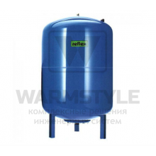 Мембранный расширительный бак для систем ГВС DE 1500 синий