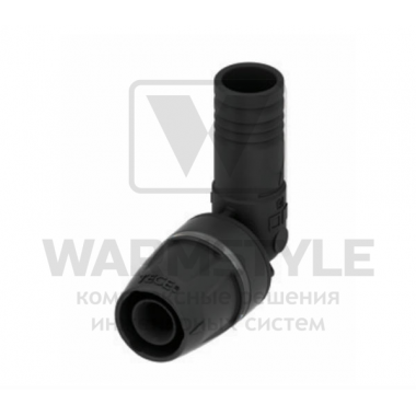 Уголок соединительный 90° с фитингом PPSU TECElogo ∅ 16/16 мм