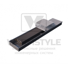 Внутрипольный конвектор Heatmann серии Line 80х250х1800 мм