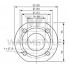 Циркуляционный насос с мокрым ротором Wilo TOP-S 80/10 DM PN10